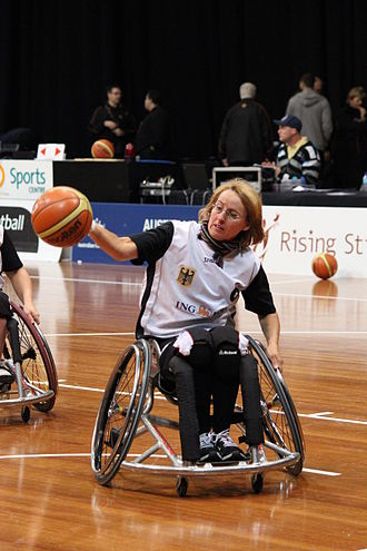 Britt Dillmann - Image: Germany women's national wheelchair basketball team 6880 13
