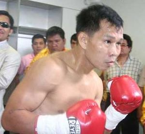 Picture of filipino boxer Gerry Peñalosa