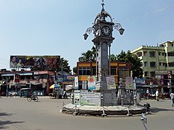 Ghorir More (Edwardian clock tower)