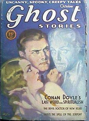 English: Cover of the pulp magazine Ghost Stor...