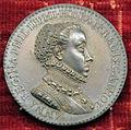 Giampaolo poggini, medaglia di anna d'austria (e filippo II di spagna), argento.JPG