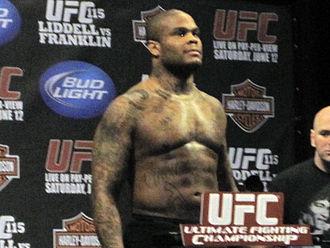 Gilbert Yvel - Image: Gilbert Yvel UFC 115
