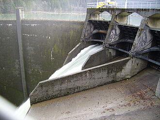 Glines Canyon Dam - Glines Canyon Dam