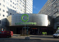 globen shopping parkering