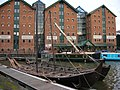 Gloucester, The Docks, Viking Boat - geograph.org.uk - 1097226.jpg
