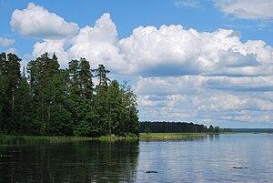 Lake Glubokoye (Karelian Isthmus) - Image: Glubokoe