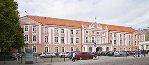 Toompea Castle - 18th century, Baroque additions to the castle