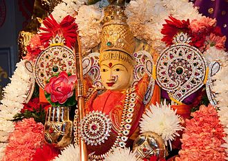 Adi Parashakti - Goddess Adi ParaShakthi is the Presiding Deity at the Parashakthi Temple in Pontiac Michigan, USA