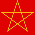 Gold pentagram on red.png