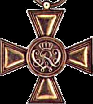 Military Merit Cross (Prussia) - Image: Goldenesmilitaerverd ienstkreuz
