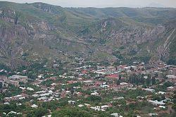 Skyline of GorisԳորիս