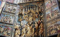 Gothic altar by Veit Stoss, commissioned for the St. Mary's Church, Kraków, late 15th century.
