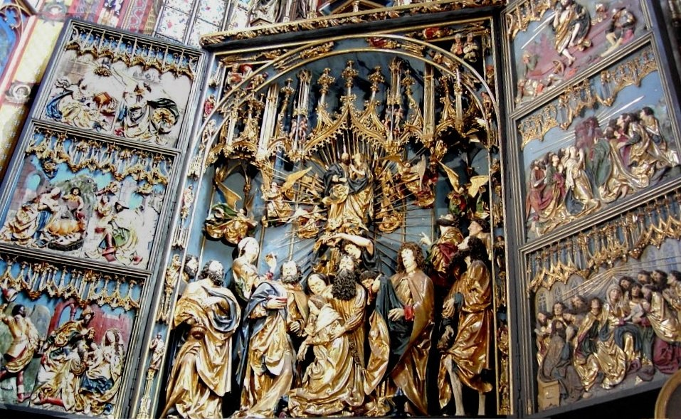 Gothic altar veit stoss