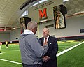 Governor Visits University of Maryland Football Team (36922607635).jpg
