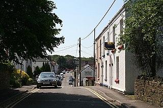 Gowerton village in Wales