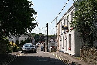 Gowerton - Image: Gowerton, Church Street geograph.org.uk 184787