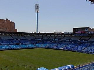La Romareda the home stadium of Real Zaragoza, a Spanish football club