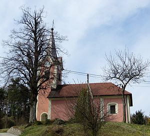 Gradišče, Škofljica - Saints Primus and Felician Church