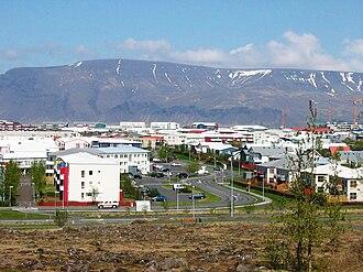 Grafarvogur - View towards Rimahverfi