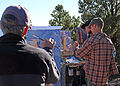 Grand Canyon Celebration of Art 2013 - Bill Cramer, Aaron Schuerr ^ Jim Wodark Plein Air Painting 2133 - Flickr - Grand Canyon NPS.jpg