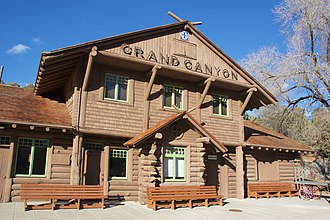 Francis W. Wilson - Image: Grand Canyon Railway Station 2015 001