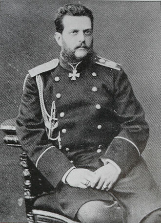 Grand Duke Vladimir Alexandrovich of Russia - Photo by Sergei Lvovich Levitsky