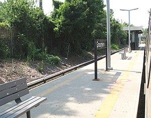 Grasmere (Staten Island Railway station) - Platform