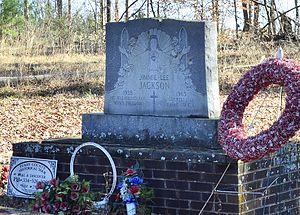 Murder of Jimmie Lee Jackson - Grave of Jimmie Lee Jackson