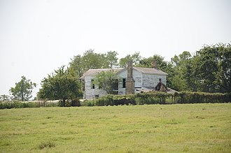 National Register of Historic Places listings in Haskell County, Oklahoma - Image: Green Mc Curtain house