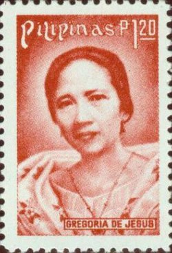 Gregoria de Jesus 1978 stamp of the Philippines.jpg