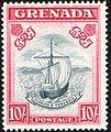 Grenada 1943 10 shilling stamp.JPG
