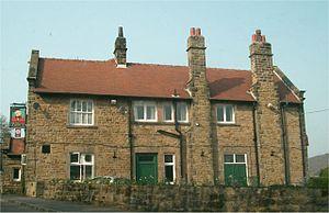 Grindleford - Image: Grindleford Sir William Hotel 005579 75384d 5d 213x 160