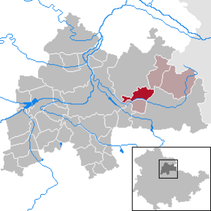 Großneuhausen - Image: Großneuhausen in SÖM