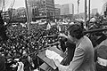 Grote demonstratie voor betere arbeidsvoorwaarden in Rotterdam (ong. 30.000 man , Bestanddeelnr 929-0321.jpg