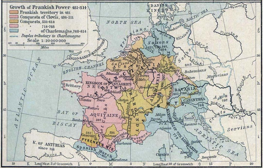 Growth of Frankish Power, 481-814 Edit