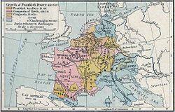 Carolingian empire 751–840 edit