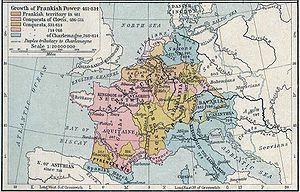 Siege of Trsat - Image: Growth of Frankish Power, 481 814 Edit