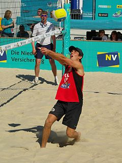 Grzegorz Fijałek Polish beach volleyball player