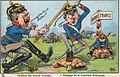Guerre 14-18-Humour 1-Passage de la frontiére Française-vers 1914.JPG