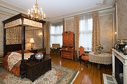 Sir Henry aspired to have members of the Royal Family stay in the Guest Suite.