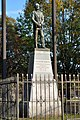 Guglielmo Marconi Monument in Marconi Plaza Behind Fence.jpg