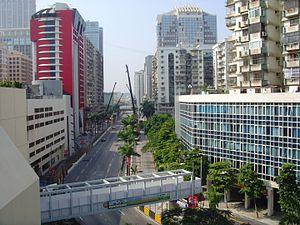 2014 Macau Grand Prix - The Guia Circuit, where the race was held