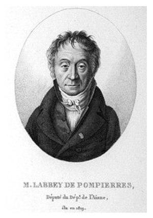 Guillaume-Xavier Labbey de Pompières