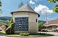 Gurk Domplatz 1 Stiftsanlagen NW-Ecke Sandturm NO-Ansicht 13062017 9391.jpg