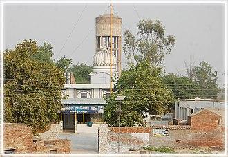 Haryau - Image: Gurudwara Dukh Niwaran Sahib