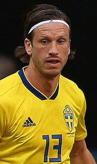 Gustav Svensson Swedish footballer
