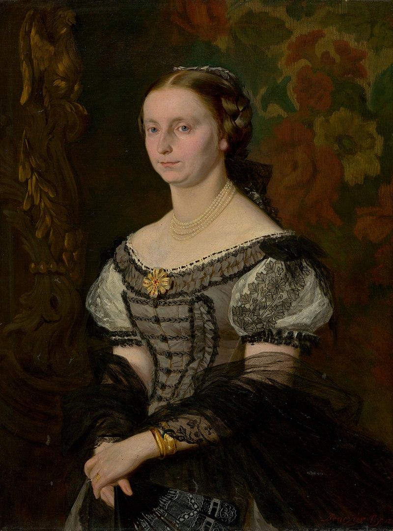 Дьюла Бенчур - Портрет Терезии Уйхази (урожденной Присницовой) - O 1875 - Словацкая национальная Gallery.jpg