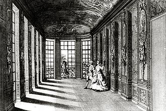 Hôtel Lambert - Galerie d'Hercule, decorated by Charles Le Brun.