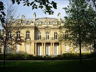 Hélène van Zuylen - Hôtel Salomon de Rothschild, the childhood home of Hélène de Rothschild.