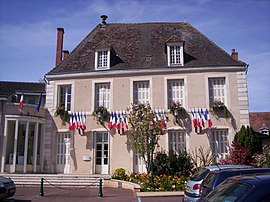 The town hall in Montmorillon